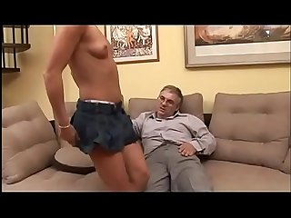 Sexual break with a horny and dirty dad