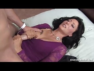 Mature Sexy Ladies Exhibit Their Handjob Skills