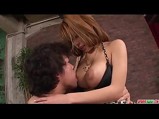Big boobs haruka sanada amazing sex in flaming scenes more at japanesemamas com