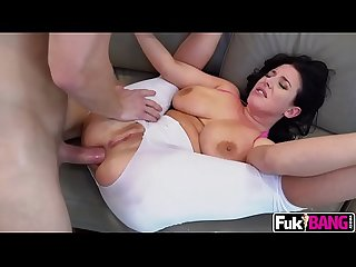 Angela White Her Violent Combination of Tit Fucking Ass to Mouth Squirting N Anal Sex