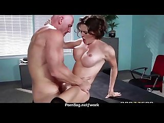 Big Titted Babe Gets Fucked Hard in the Office 3