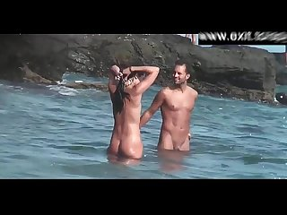 Sneaky filming beautiful nudist amateurs