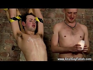 Gay young male blowjobs Spitting Cum In A Slaves Face