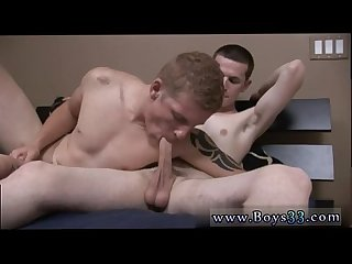 Straight gay cum Last time these 2 were together, they played with