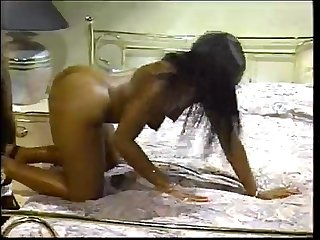 Menage trois chocolate anal freak