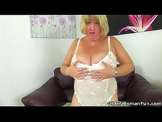 British BBW milf Melons Marie is built for pleasure