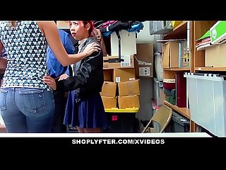Shoplyfter hot asian mom fucks for daughters freedom