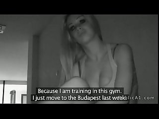 Chica Cojida en el gym