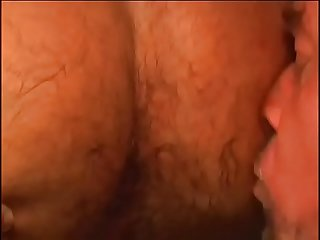 Two bears have hot, sweaty, verbal, hairy, and passionate sex