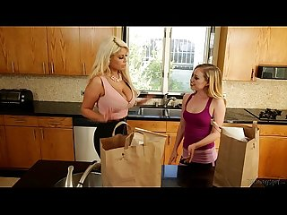Lyra louvel and bridgette b at mommy s girl