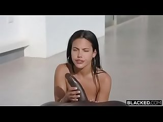 Apolonia Lapiedra X Blacked Interracial