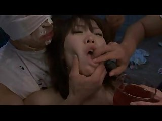 Hairy asian gangbang anal prison sex