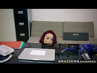 Brazzers big tits at work point of sale scene starring Monique alexander danny D