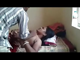 Indian Aunty secretly fucked by uncle Forced Aunty