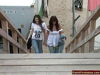 Incredible dutch lesbians