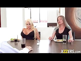 Nicolette shea in wifes sister around husband