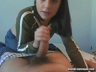 College sophomore blowjob