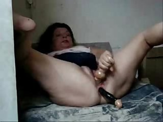 Hidden cam caught my slut mum having fun with young lover