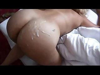 Booty wife on real homemade