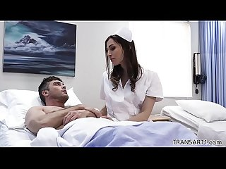 Tranny nurse makes the patient happier