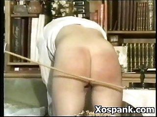 Wild naughty vigilant spanking roleplay
