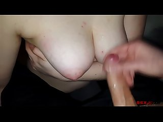 Teen titjob and huge cumshot Victoria day