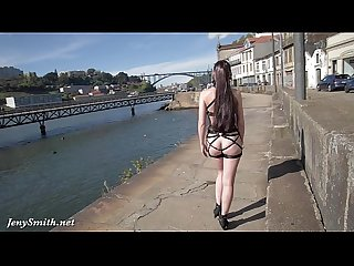 Jeny smith mymokondo strap bondage in public
