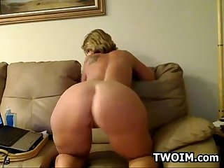 Mature Woman Showing Off Her Ass