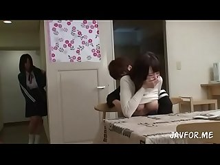 Asian sisters Mao and Miha race to get impregnated part 1