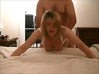Hot wife on real homemade