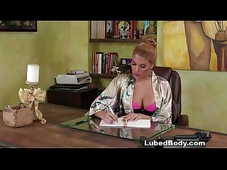 Mercedes Carrera and Giselle Palmer does nuru massage on a business man