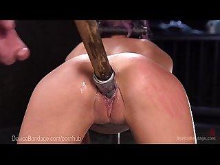 Sexy Teen gets bound