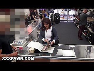 Xxx pawn desperate milf sells her husband s baseball cards for bail money
