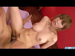 Ai sakura enjoys cock in her shaved pussy and butt hole