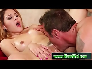 Sexy masseuse gets cum on her perfect body - Liv Revamped & Steven StCroix