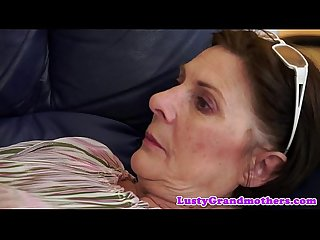 Bigbutt gilf fucked on the couch
