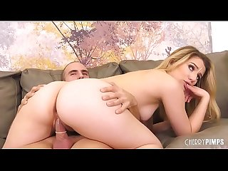 Blonde Newbie Gets Her Teen Cunt Eaten Out and Pounded Hard in Live Show