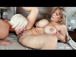 Allysa lynn and Jenna ivory mommy licks daughter pussy