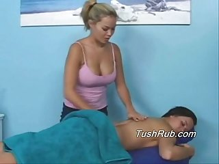 Susie's first time FULL body massage
