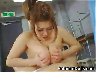 Tiny cock japanese shemale sucked by beautiful girl