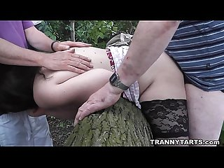 Public sex and outdoor orgies with transvestites and crossdressers