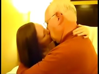 Kissing husbands dad