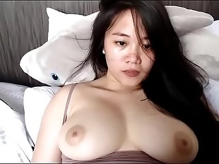 Horny Asian with perfect wants to cum twice adays