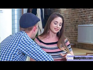 Hot Busty Mommy (Cathy Heaven) Love Hard Sex In Front Of Camera vid-14