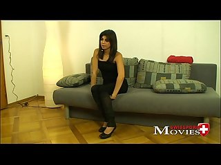 Interview porn Movie with swissmodel corina 19y in z rich