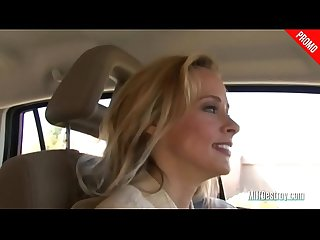 Blonde Milf Picks Up a Hitchhiker