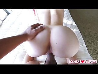 Stepsister seducing her stepbrother and and blows and fucks
