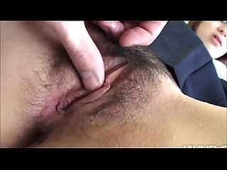 Japanese blowjob amateur gets fingered and loves it