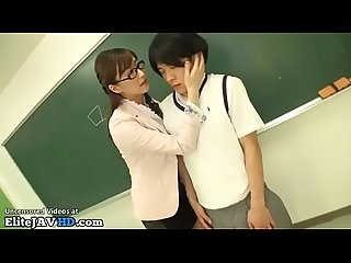 Japanese hot teacher pleases lucky student more at elitejavhd com