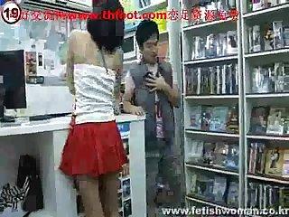 Chinese femdom Korean 242
